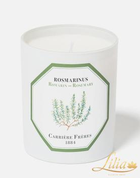 LUXURY FRAGRANCE CANDLE CARRIÈRE FRÈRE ROSEMARY
